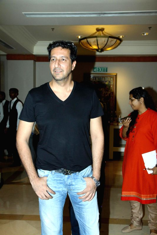 Music director Sulaiman Merchant during the grand jury meet of 7th Radio Mirchi music awards in Mumbai on Feb. 4, 2015.