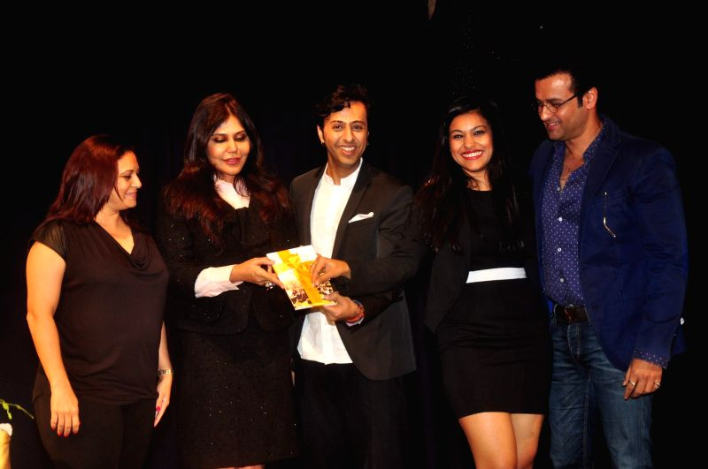 Neha Premjee launched her first book #College along with Rohit Roy , Salim Merchant and Manasi Roy with  Nisha JamVwal in Mumbai. - Rohit Roy and Manasi Roy