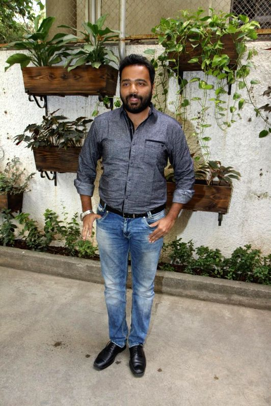 Nikhil Mahajan during the first look and theatrical trailer launch of Shreyas Talpade starrer `Baji` in Mumbai, on Dec 9, 2014. - Nikhil Mahajan