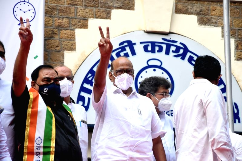 Mumbai, Oct 23 (IANS) Senior Maharashtra politician Eknath G. Khadse on Friday formally joined the Nationalist Congress Party with a veiled warning to the Bharatiya Janata Party, of whose he was a devoted and diligent member for four decades.