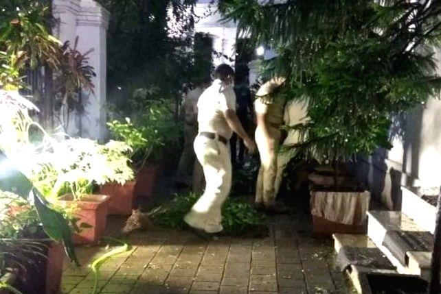 Mumbai Police start probe in Ambedkar home vandalism.
