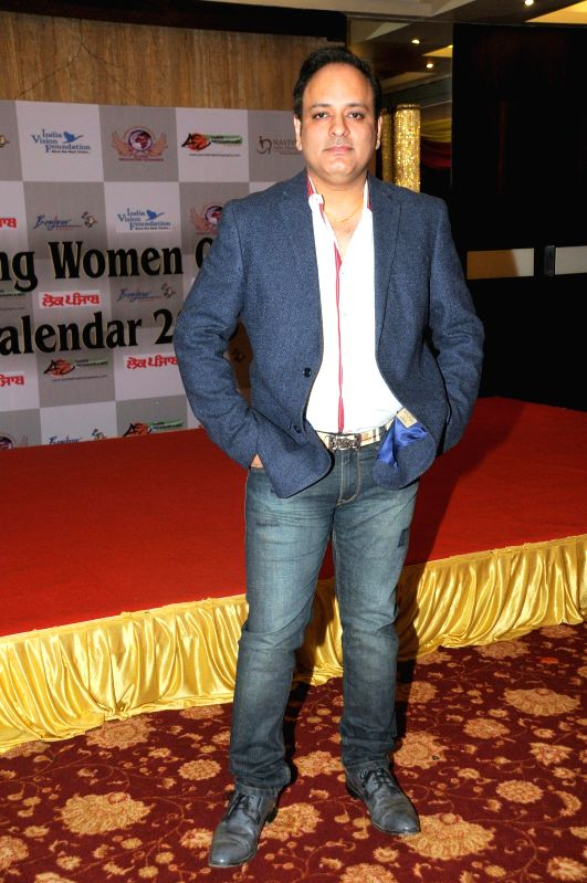 Prashant Sharma during Women Power Calendar Launch 2015 in Mumbai on Jan 17, 2015. - Prashant Sharma