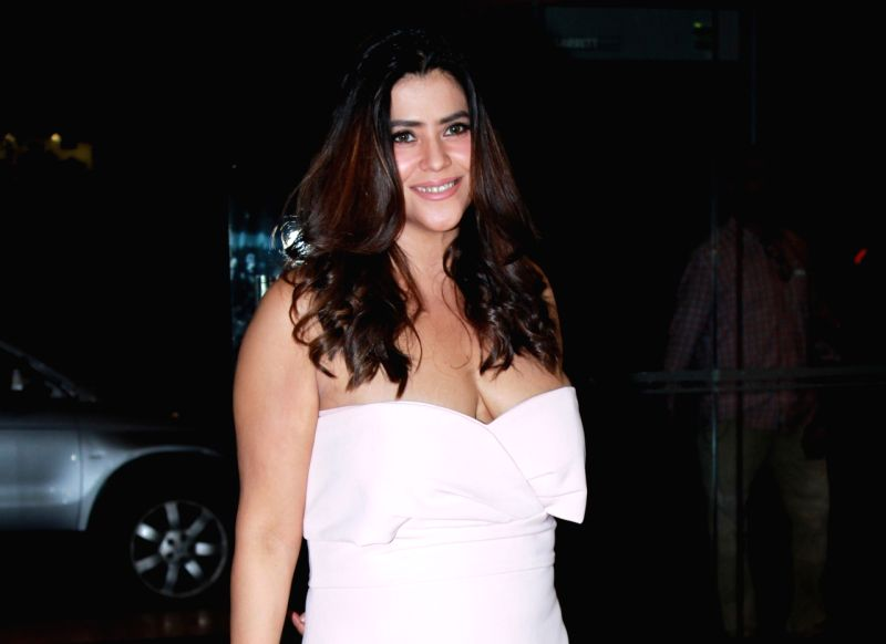 Mumbai: Producer Ekta Kapoor seen at a Mumbai hotel on Aug 16, 2019. (Photo: IANS)