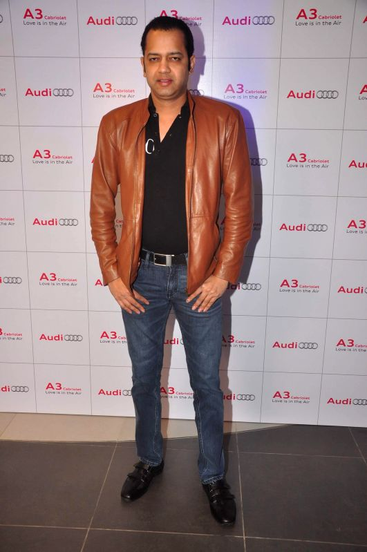 Rahul Mahajan during launch of Audi A 3, in Mumbai, on Dec. 20, 2014. - Rahul Mahajan