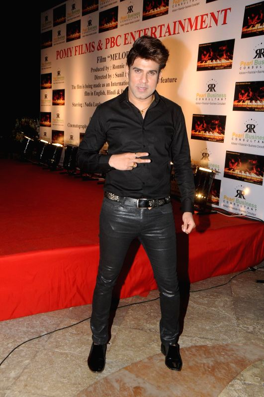 Rajiv Khinchi during the launch of film Melody in Mumbai, on November 20, 2014.