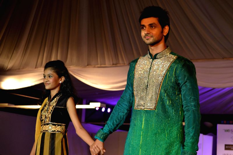 Shakti Arora during the the Global Peace Initiative, 2014 event in Mumbai on Nov 26, 2014. - Arora