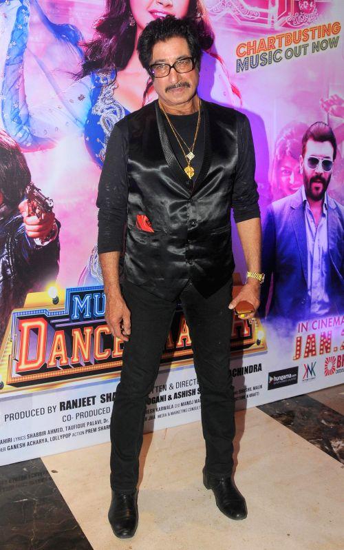 Shakti Kapoor during the audio launch of film `Mumbai Can Dance Saalaa` in Mumbai on Thursday, Dec 11, 2014. - Kapoor