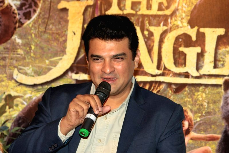 Mumbai: Siddharth Roy Kapoor, MD, Disney India during the press conference of film The Jungle Book in Mumbai, on March 28, 2016. (Photo: IANS)