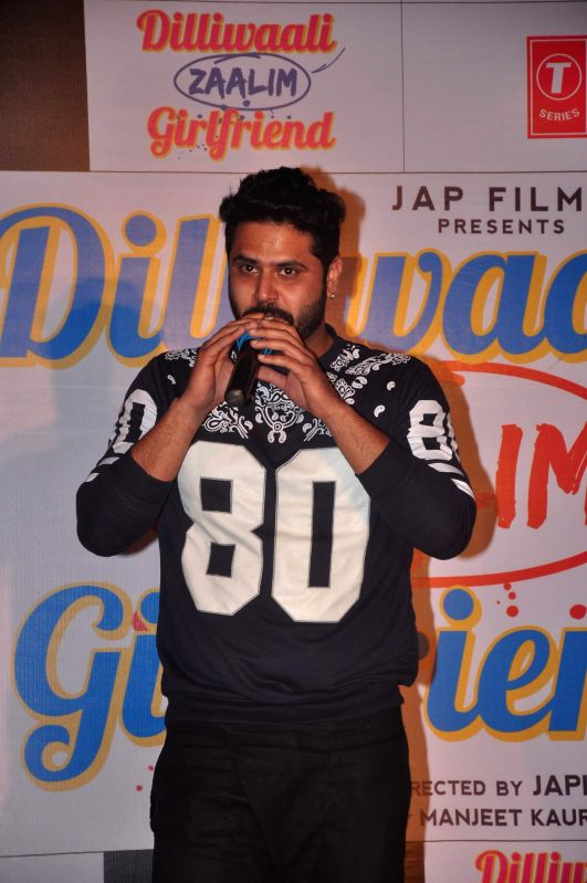 Singer Alfaaz during the music launch of film Dilliwali Zaalim Girlfriend in Mumbai on March 9, 2015.