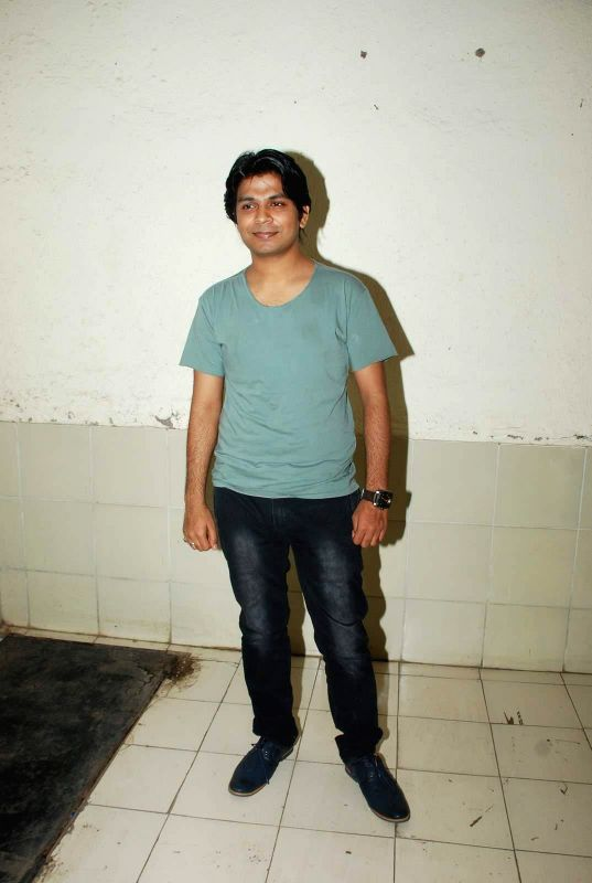 Singer Ankit Tiwari during the music launch of film Mr. X at Radio City in Mumbai, on March 13, 2015.