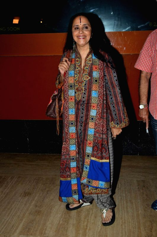 Singer Ila Arun during the premiere of film Bhopal: A Prayer for Rain in Mumbai, on December 4, 2014.