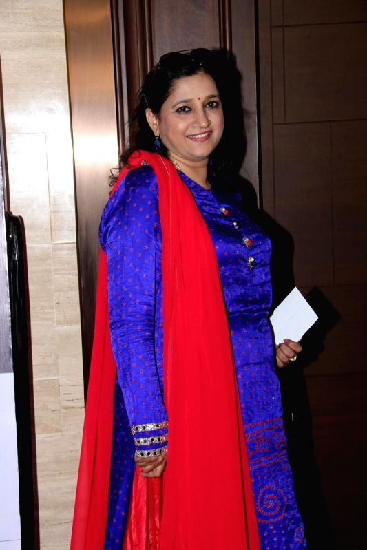 Singer Kavita Seth during the charity event, Be with Beti, to celebrate International Women`s Day, in Mumbai, on March 8, 2015. - Kavita Seth