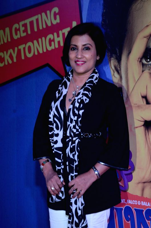 Singer Madhushree Bhattacharya during the premiere of film Hunterrr in Mumbai on March 17, 2015.