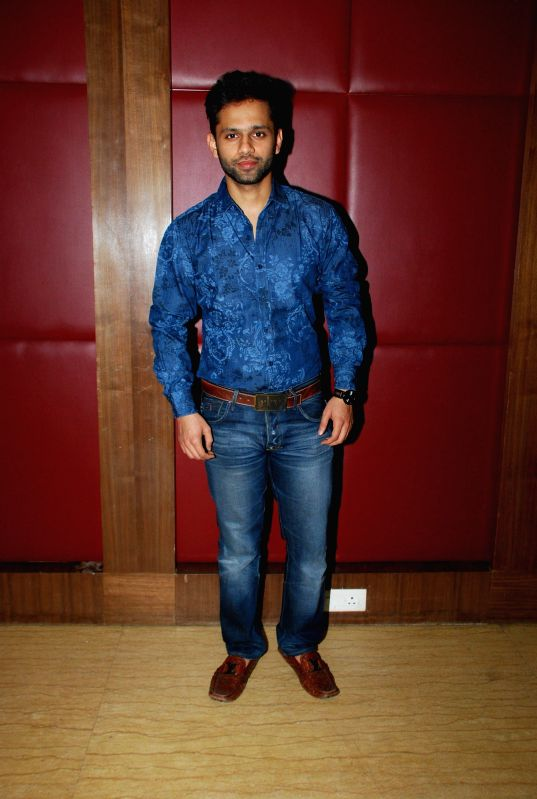 "Singer Rahul Vaidya during the launch of music album ""Kamasutra"" in Mumbai, on Jan. 15, 2015. - Rahul Vaidya"