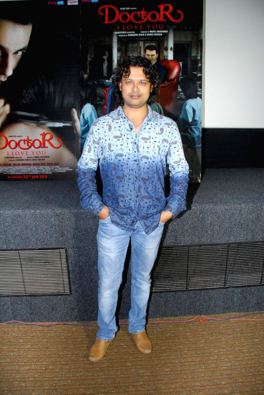 Singer Raja Hasan during the music launch of film Doctor I love You in Mumbai, on 5th Jan 2015