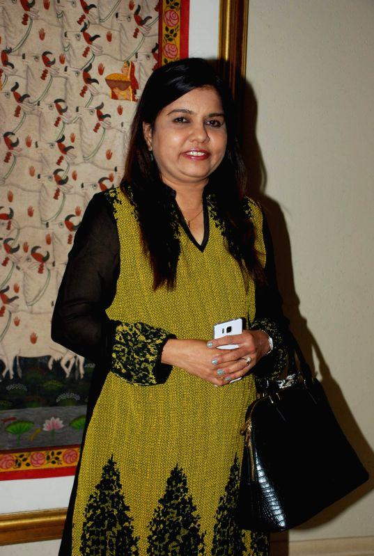 Singer Sadhana Sargam during the grand jury meet of 7th Radio Mirchi music awards in Mumbai on Feb. 4, 2015.