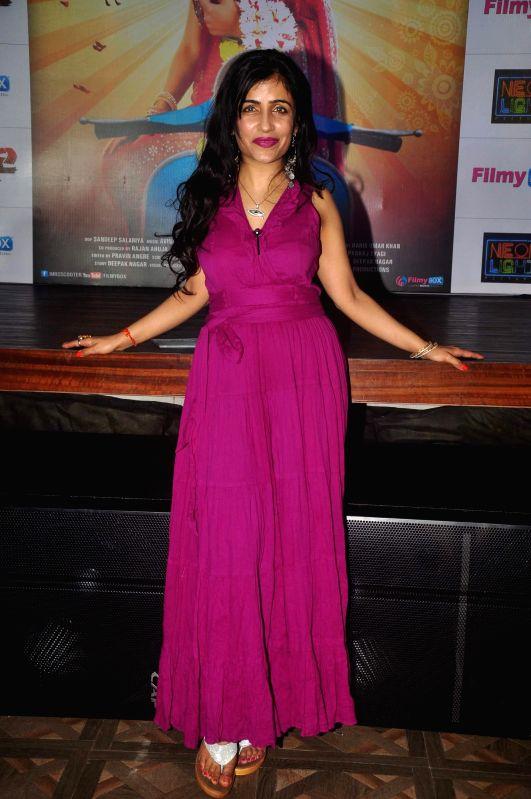 Singer Shibani Kashyap during music launch of film Mrs Scooter in Mumbai, on Jan. 19, 2015. - Shibani Kashyap