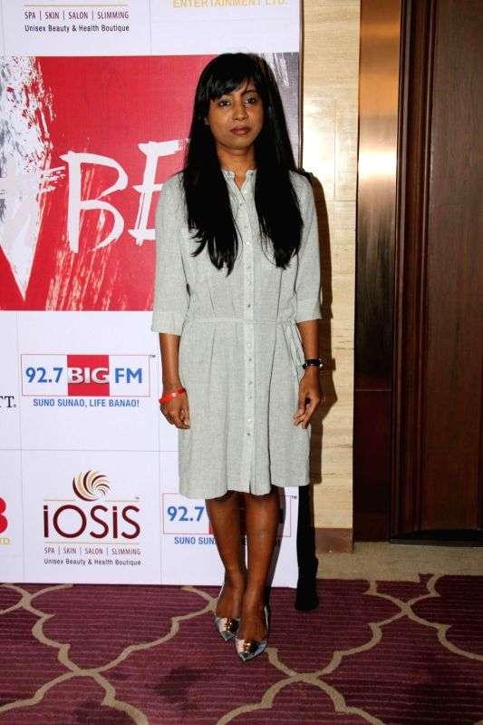 Singer Shilpa Rao during the charity event, Be with Beti, to celebrate International Women`s Day, in Mumbai, on March 8, 2015. - Shilpa Rao