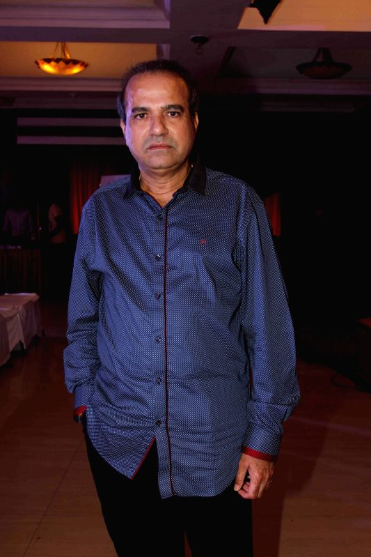 Singer Suresh Wadkar during the launch of IKL - Indian Karaoke League in Mumbai on April 14, 2015.