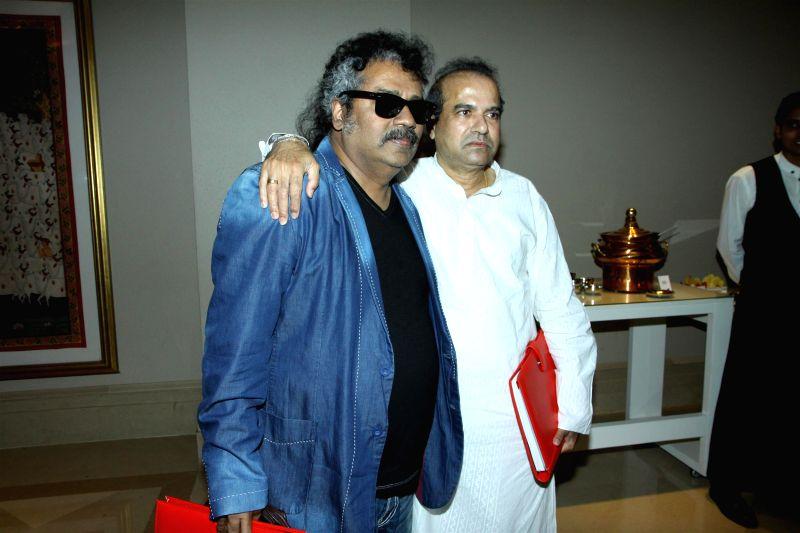 Singers Hariharan and Suresh Wadka during the grand jury meet of 7th Radio Mirchi music awards in Mumbai on Feb. 4, 2015.