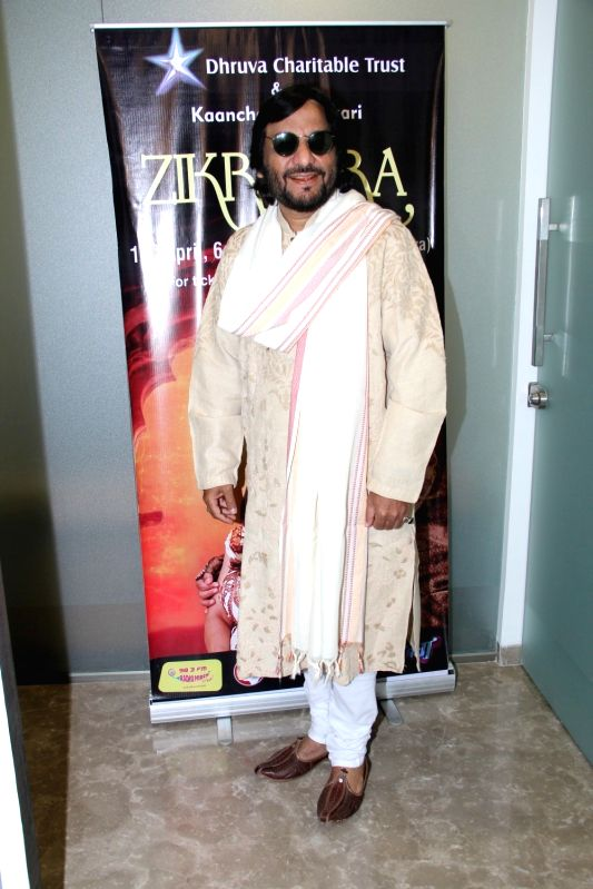 Singers Roop Kumar Rathod during the press conference to announce upcoming music concert Zikr Tera in Mumbai on April 2, 2015. (Photo: IANS). - Roop Kumar Rathod