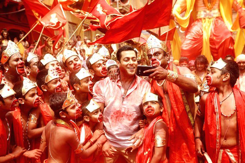 Stills from Hindi film `Bajrangi Bhaijaan`. on June 18, 2015.