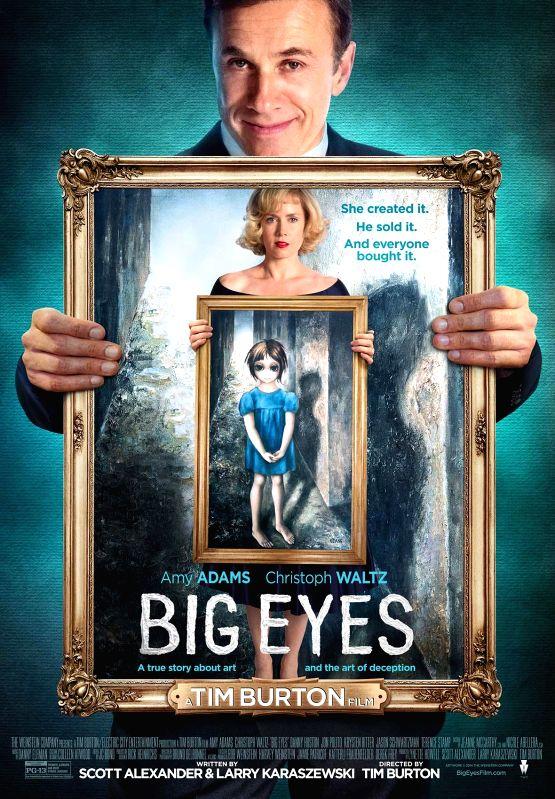 Stills from Hollywood film `Big Eyes`.