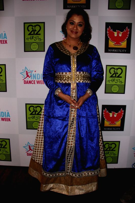 Sudha Chandran during the grand finale of second edition of India Dance Week in Mumbai on April 26, 2015.