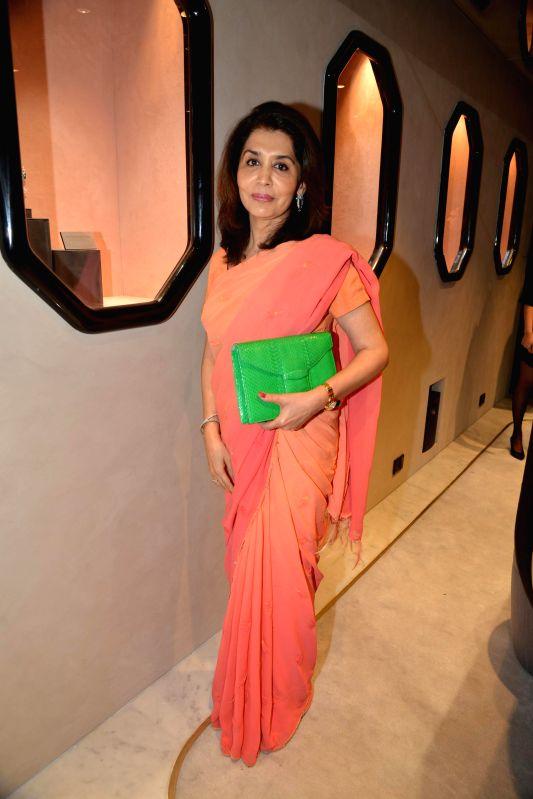 Tasneem Mehta during the inauguration of Nirav Modi Jewellry shop in Mumbai on March 14, 2015. - Tasneem Mehta