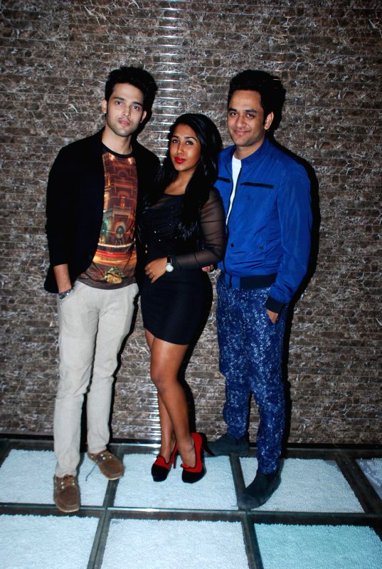 Team of Kaisi Yeh Yaariyanin during the success bash of their show in Mumbai, on Dec. 16, 2014.