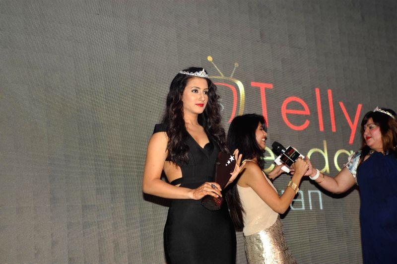 Television actor Additi Gupta during the launch of Telly Calender 2015 in Mumbai, on Dec 23, 2014. - Additi Gupta