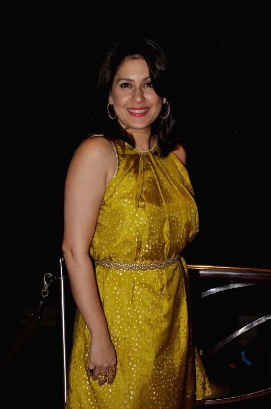 Television actor Amrita Raichand during a expecting mothers fashion show organised by Cordlife in Mumbai on March 15, 2015. - Amrita Raichand