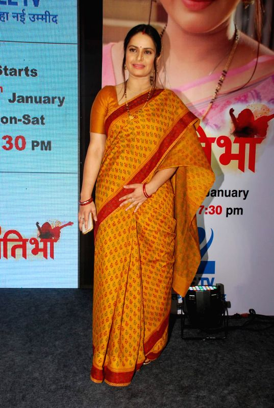 Television actor Binny Sharma during the launch of television serial Hello Pratibha in Mumbai, on Jan. 19, 2015. - Binny Sharma