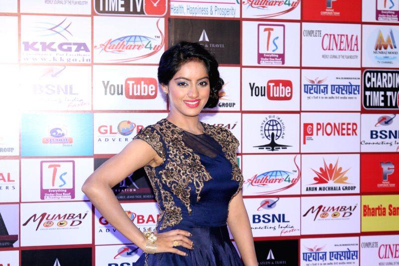 Mumbai: Television actor Deepika Singh during the 5th 'TIIFA' awards (The Indian Icon Film Awards) in Mumbai, on Oct 1, 2016.