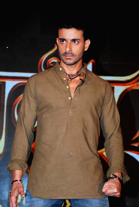 Television actor Gautam Rode during the launch of Life Ok new serial Mahakumbh in Mumbai, on Dec 5, 2014. - Gautam Rode