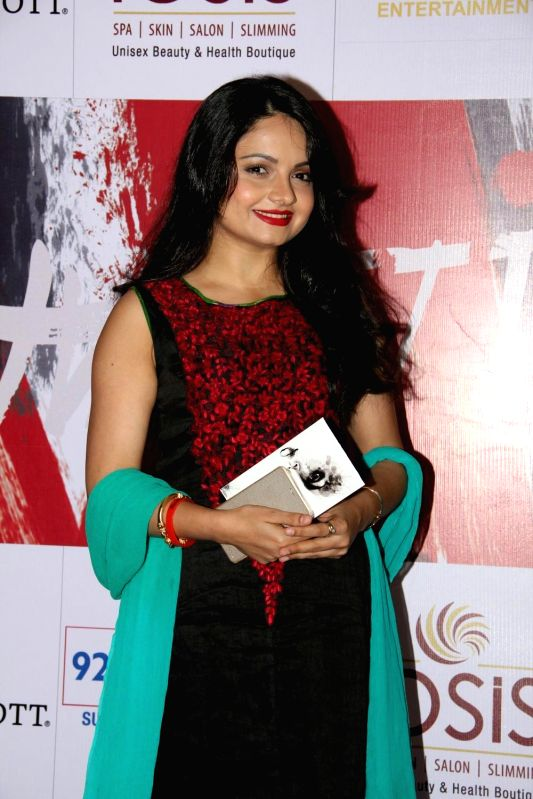 Television actor Giaa Manek during the charity event, Be with Beti, to celebrate International Women`s Day, in Mumbai, on March 8, 2015. - Giaa Manek