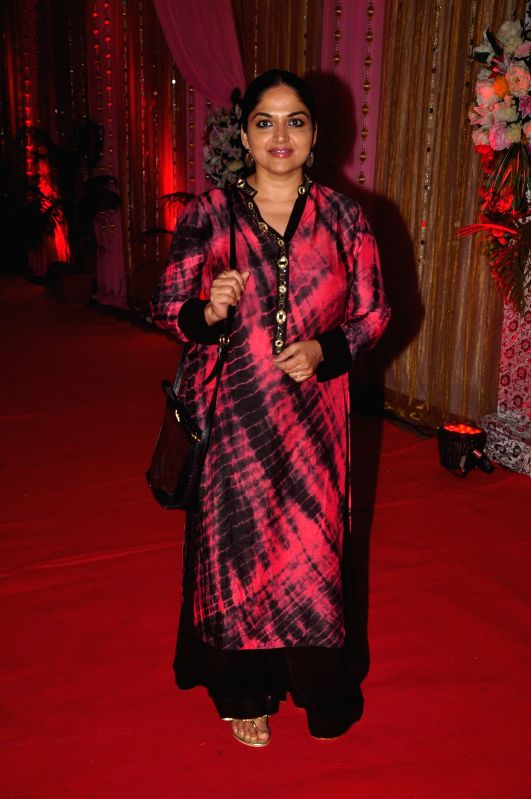 Television actor Indira Krishnan during the success bash of film Hey Bro music in Mumbai on Feb 22, 2015. - Indira Krishnan