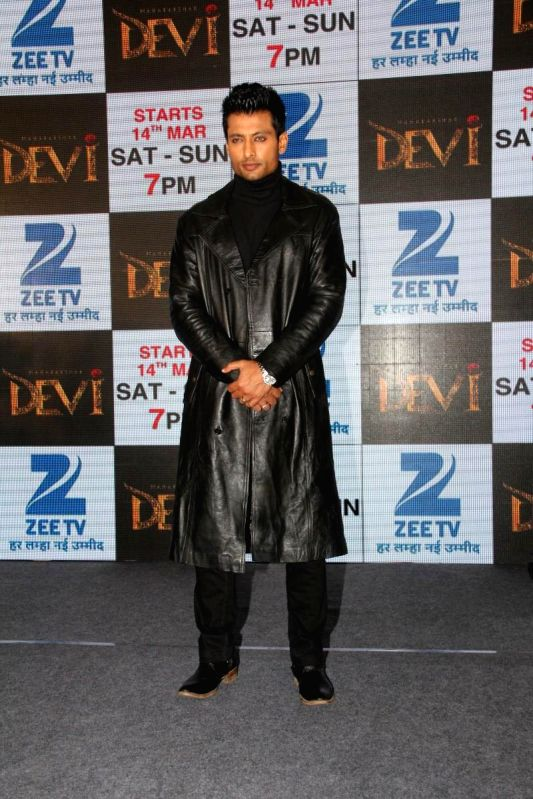 Television actor Indraneil Sengupta during the press conference to announce Zee TV new show Maharakshak Devi in Mumbai, on March 10, 2015. - Indraneil Sengupta
