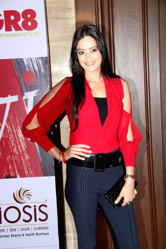Television actor Jassi Kaur during the charity event, Be with Beti, to celebrate International Women`s Day, in Mumbai, on March 8, 2015. - Jassi Kaur