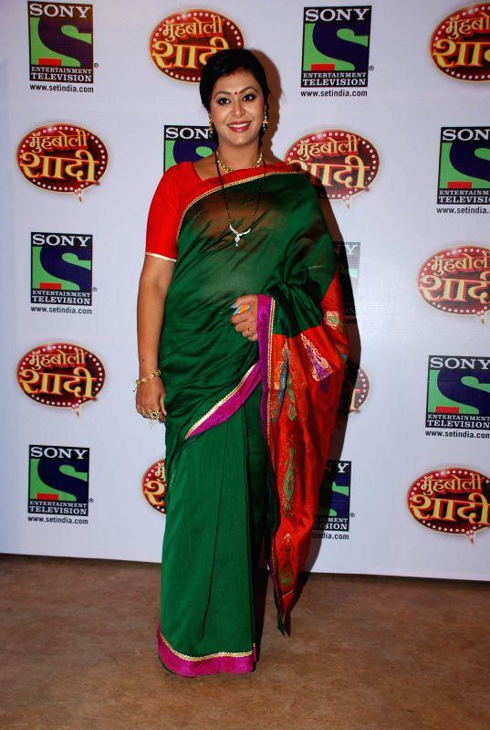 Television actor Kashish Duggal during the launch of Sony TV upcoming show `Muh Boli Shaadi` in Mumbai on Feb 19, 2015. - Kashish Duggal