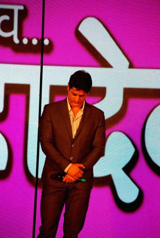 Television actor Mohit Raina during the launch of Life Ok new serial Mahakumbh in Mumbai, on Dec 5, 2014. - Mohit Raina