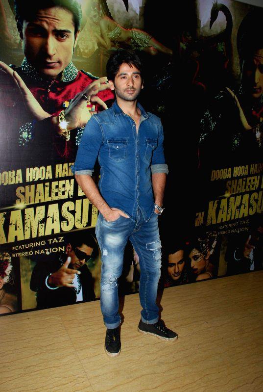 Television actors Sachin Chhabra during the launch of music album Kamasutra in Mumbai, in Mumbai on Jan. 15, 2015. - Sachin Chhabra