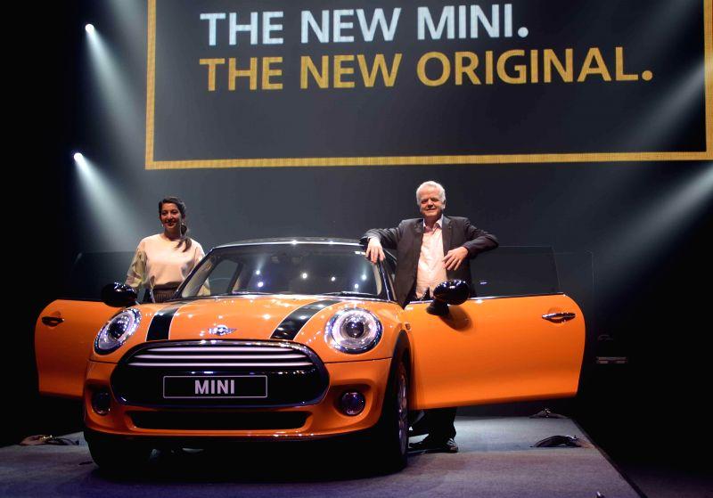 The President of BMW Group India Philipp von Sahr at the launch of MINI 3 in Mumbai, on Nov 19, 2014.