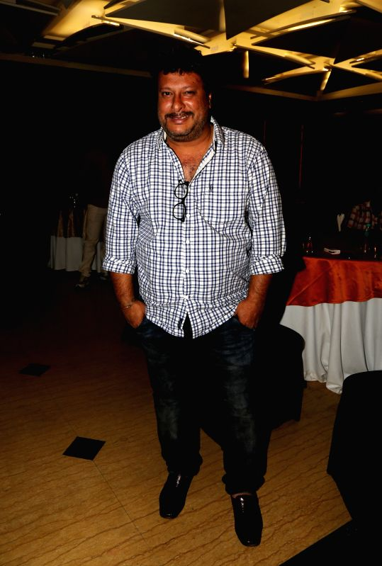 Tigmanshu Dhulia during the film Bumper Draw completion party in Mumbai on April 26, 2015.