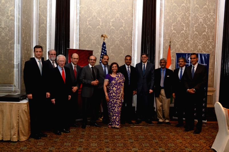US Treasury Secretary Jacob J. Lew meets top business leaders including Anil Ambani, Dr. Swati Piramal, Adi Godrej and others, ahead of the US-India Economic and Financial Partnership ... - Ambani