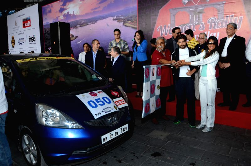 Vijay Mallya, Chairman, UB Group during Women's Rally To The Valley, in Mumbai, on March 8, 2015. - Vijay Mallya
