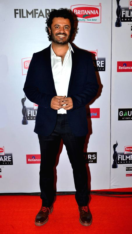Vikas Bhal graces during the 60th Britannia Filmfare awards in Mumbai, on January 31, 2015.