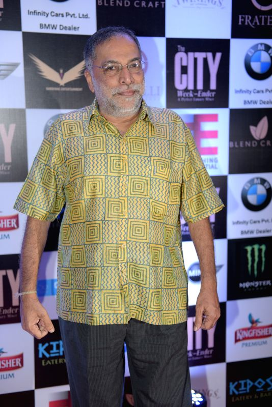 Vithal Kamat during Rashmi Pitre's art collection showcase at the City Week Ender - A Perfect Luxury Mixer in Mumbai on Sunday, April 26th, 2015