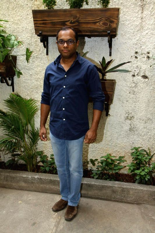 Vivek Rangachari during the first look and theatrical trailer launch of Shreyas Talpade starrer `Baji` in Mumbai, on Dec 9, 2014.