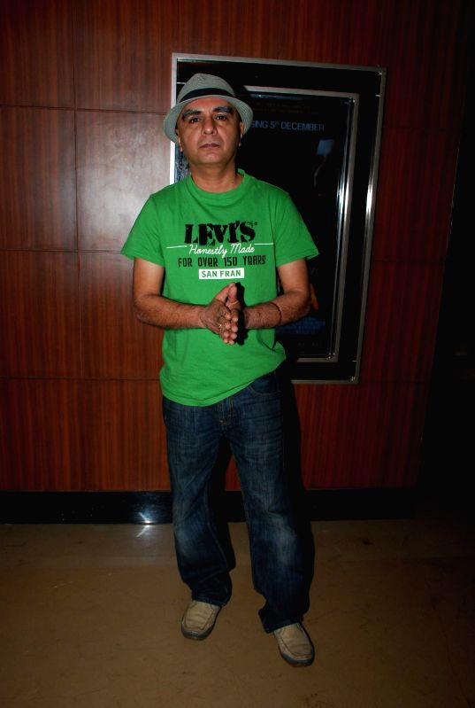 Writer Minty Tejpal during the screening of film Sulemani Keeda in Mumbai on Dec 2, 2014.